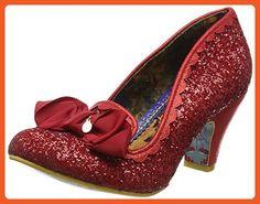 Irregular Choice Kanjanka Womens Shoes Red - 40 EU - Sneakers for women (*Amazon Partner-Link)