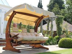 Summer Dream Swing Seat - 3 Seater with Foot Rests