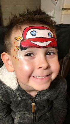 Car face painting