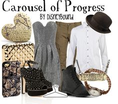 """""""Carousel of Progress"""" by lalakay on Polyvore"""