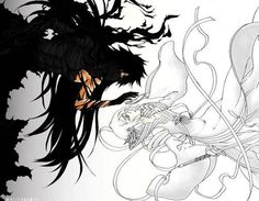 Mugetsu Ichigo x Bankai Rukia  How magnificent. So beautiful.