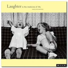 "Madelaine Bamford on the restorative power of laughter.  Sound familiar?  A few thousand years earlier, King Solomon wrote:  ""A happy heart is good medicine and a cheerful mind works healing, but a broken spirit dries up the bones.""  (Proverbs 17:22, Amplified)."
