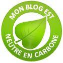Geste écolo 2012 : Mon blog neutre en co2