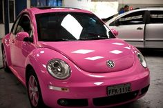 Pink beetle... The rims!!