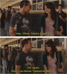 Easy A...how I feel at school almost every day