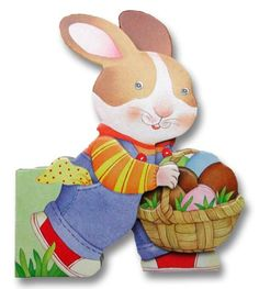 Bunny's Egg Hunt (Die-Cut Board Books) by Giovanni Caviezel http://www.amazon.com/dp/0689852460/ref=cm_sw_r_pi_dp_xZu-tb0ET5X0K