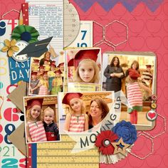 Digital Scrapbook Kit - 2COOL4SCHOOL | ForeverJoy Designs