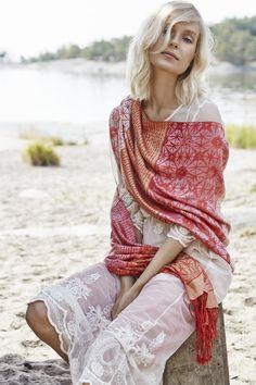SS16 #marjakurki #silk #scarf #FinnishDesign Ss16, Bohemian, Collections, Photos, Beauty, Design, Style, Fashion, Swag