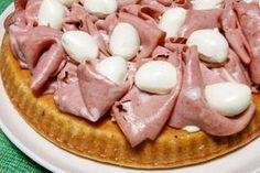 Crostata morbida salata con mortadella e stracchino Quiche, Vegetable Muffins, Plum Cake, Yummy Food, Tasty, Antipasto, Bruschetta, Biscotti, Finger Foods