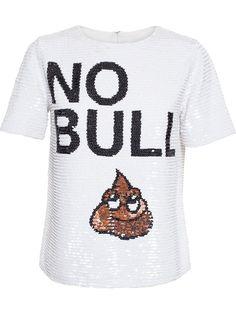 Ashish No Bullshit Sequinned Top - Browns - Farfetch.com
