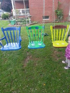 Tipps zum Basteln Upcycling im Freien Tips for crafting upcycling outdoors Playground Design, Backyard Playground, Playground Ideas, Playground Flooring, Backyard Projects, Diy Projects, Garden Projects, Backyard Ideas, Family Garden