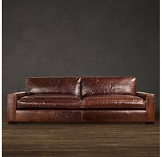 Leather~ Maxwell Leather Sofas