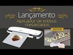 Aplicação de Foil e Efeitos Metalizados com a Laminadora I-Craft