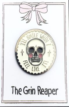 GRIN REAPER SOFT ENAMEL PIN