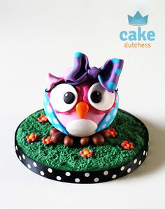 Cute Owl – Tutorial - Cake Dutchess