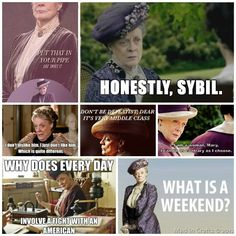 Love her in downton!