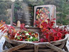 ...a quiet life...: forest feast salads...Butternut Caprese, a fall twist on the Italian classic!