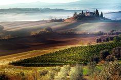 Tuscan Morning_Italy by Adnan Bubalo (阿德南·布巴洛) on 500px