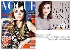 Myriam Schaefer British Vogue 2013