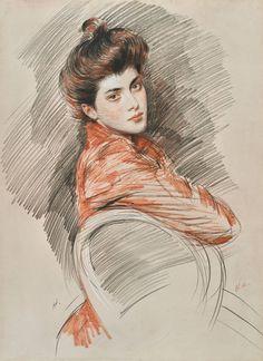 L'art Du Portrait, Portrait Sketches, Art Sketches, Trois Crayons, Figure Drawing, Painting & Drawing, Art Inspo, Portraits Pastel, Academic Drawing