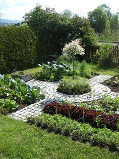 EnglishGardeners: Kitchen vegetable garden | jardin potager | bauerngarten | K..