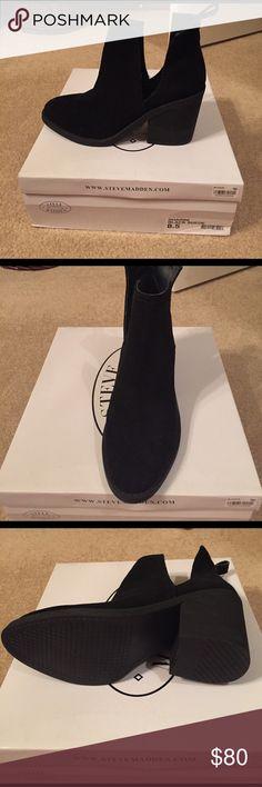 Brand new Steve Madden booties Never worn Shoes