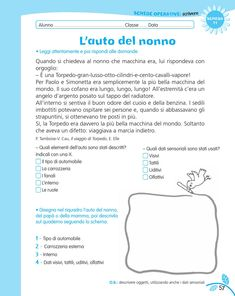 luni e tuni Italian Language, Learning Italian, Reading Material, English Lessons, Problem Solving, Back To School, Preschool, Mamma, Geography