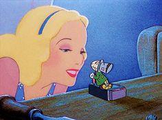 The Blue Fairy and Jiminy Cricket Walt Disney, Disney Films, Disney Cartoons, Disney Love, Disney Magic, Disney Pixar, Disney Characters, Pinocchio Disney, Blue Fairy