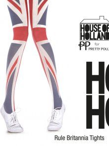 These @Tights Please are perfect for my pins to fly the flag for the Queens Diamond Jubilee
