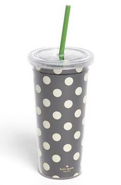 kate spade new york polka dot insulated tumbler available at #Nordstrom