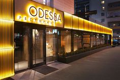 Потрясающий интерьер ресторана Odessa из морских канатов