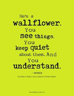 the perks of being a wallflower quotes - Google Search