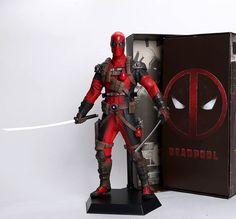 Deadpool Super Héro Modèle PVC MINI Figurine jouets Cadeau Collectible IN BOX