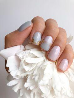 Soft Nails, Pink Nails, Short Nail Designs, Nail Art Designs, Subtle Nail Art, Short Gel Nails, Short Nail Manicure, Short Nails Art, Manicure E Pedicure