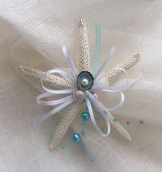 Excited to share the latest addition to my #etsy shop: Starfish ornament #beachwedding #Shellornament #coastalwedding #bridalshower #coastaldecor #starfish #turquoise #bridesmaidgift