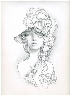 Audrey Kawasaki - probably my favorite piece!
