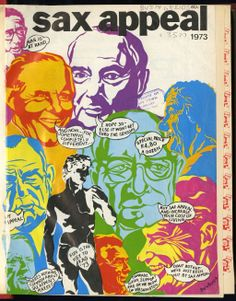 """The cover of the 1973 issue of Sax Appeal. The magazine covers showcase the many changes made to UCT RAG's largest contributor since the first edition, published in 1933, """"when men were men and women were so loose they rattled"""", according to a 1940s SAX Appeal editor."""