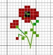 Tiny Cross Stitch, Cross Stitch Bookmarks, Cross Stitch Flowers, Cross Stitch Designs, Cross Stitch Patterns, Cross Stitching, Cross Stitch Embroidery, Embroidery Patterns, Broderie Simple
