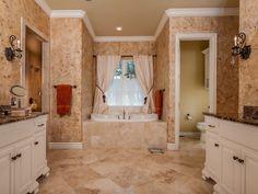 Cork inspired marble bathroom - #interiordesign #bathroom