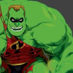 Mr incredible gamma powered