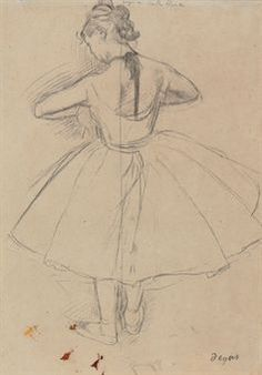 Art History News: Edgar Degas at Auction