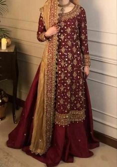 Asian Bridal Dresses, Simple Pakistani Dresses, Asian Wedding Dress, Pakistani Wedding Outfits, Indian Gowns Dresses, Pakistani Bridal Dresses, Indian Fashion Dresses, Pakistani Wedding Dresses, Pakistani Dress Design