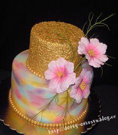 Birthday Confetti Cake  on Cake Central