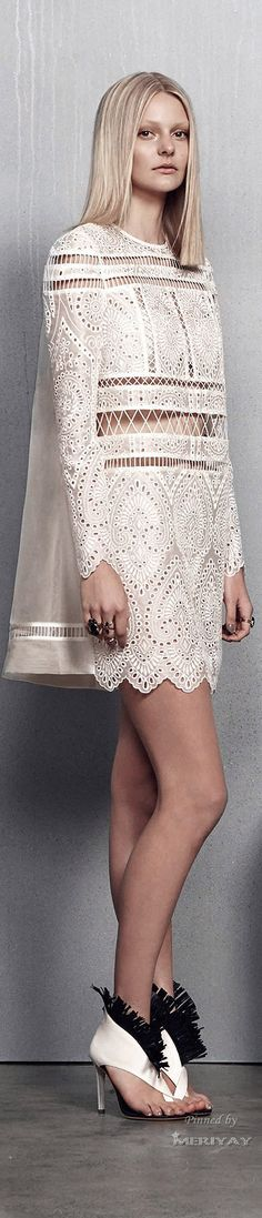 Zimmermann Resort 2015♔PM women fashion outfit clothing style apparel @roressclothes closet ideas