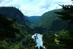 Agawa Canyon, made famous and ultimately protected by the Group of Seven. http://breathedreamgo.com/2012/08/the-art-of-the-canadian-landscape/