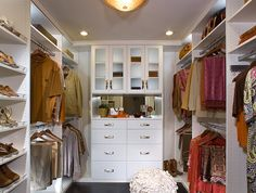 Walk Through Closet Design Pictures Remodel Decor And Ideas C L O S E T S Pinterest Closet Designs Dressing Room And Dressings