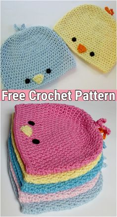 Baby Bird Beanie Hat Free Crochet Patterns – DIY Magazine Baby Bird Beanie Hat Free Crochet Patterns – DIY Magazine,Häkelarbeiten Baby Bird Beanie Hat Free Crochet Patterns Related Free Crochet Patterns for Newborn. Crochet Baby Hat Patterns, Crochet Baby Clothes, Baby Patterns, Doll Patterns, Crochet Hats For Babies, Cute Crochet, Crochet Crafts, Crochet Projects, Crochet Dolls