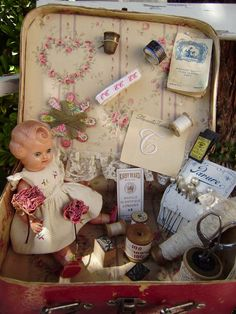 French antique sewing notions ♥