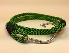 These paracord bracelets are handmade by me, made to order in your size. They are made of the highest quality paracord 550, made in the USA.  #paracord #paracordbracelet #triplewrapbracelet #hope
