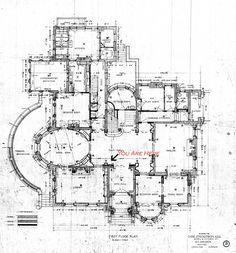 Victorian home floor plan